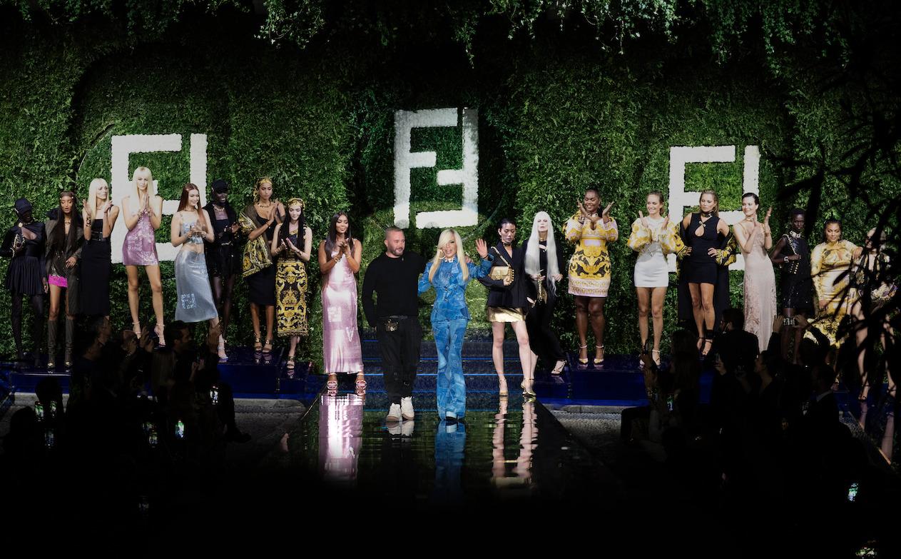 Fendi + Versace = Fendace, una fusión histórica en el mundo de la moda