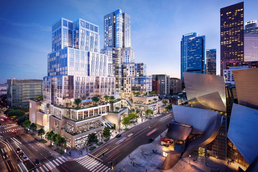 Conrad Hotels & Resorts llega a California con un edificio diseñado por Frank Gehry