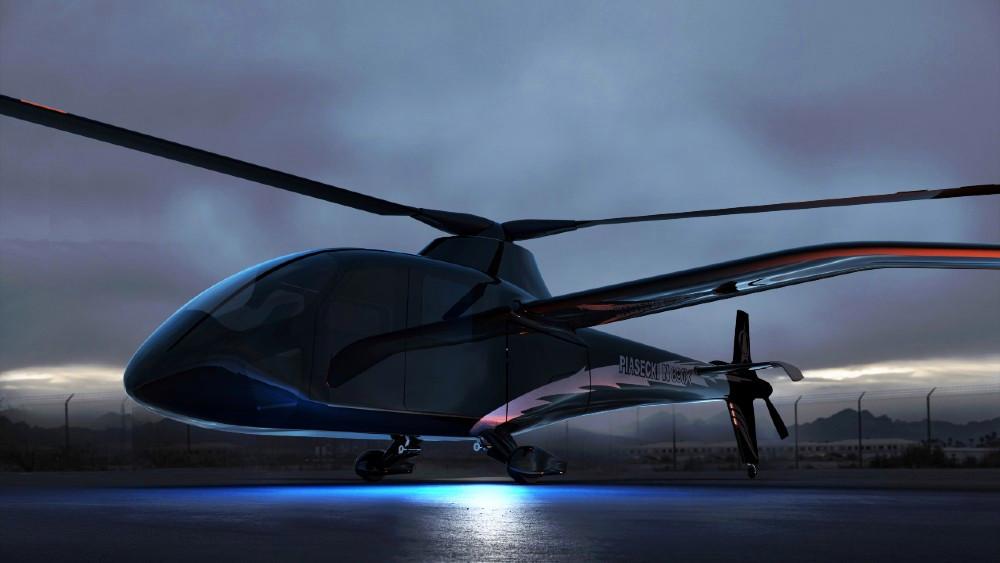 helicóptero eléctrico