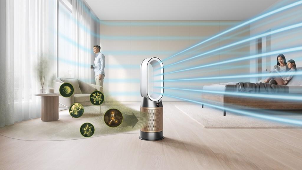 Respira, aliviado, un aire más limpio con la nueva línea de purificadores de Dyson