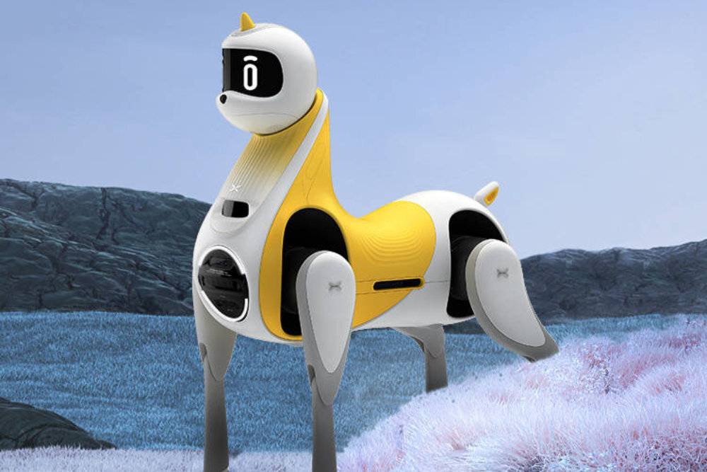 robot unicornio