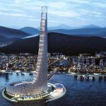 África tiene un nuevo rascacielos y está inspirado en el efecto dominó