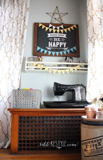 Dining Room Restyle Part 1: Home Office | Robb Restyle
