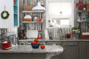 DIY Vintage Farmhouse Kitchen Reveal by Robb Restyle
