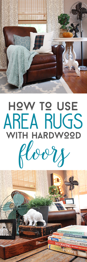How to use area rugs with hardwood floors by Robb Restyle