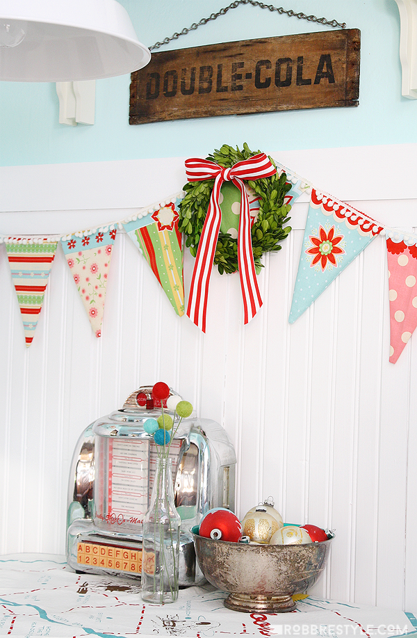 retro kitchen vintage holiday home tour