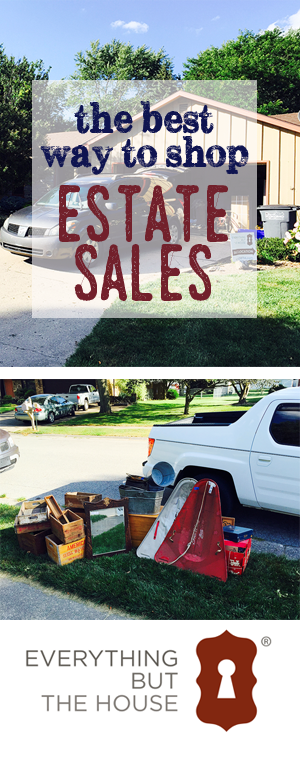 The best way to shop estate sales by RobbRestyle.com