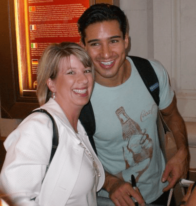Mario Lopez and Kristy Robb