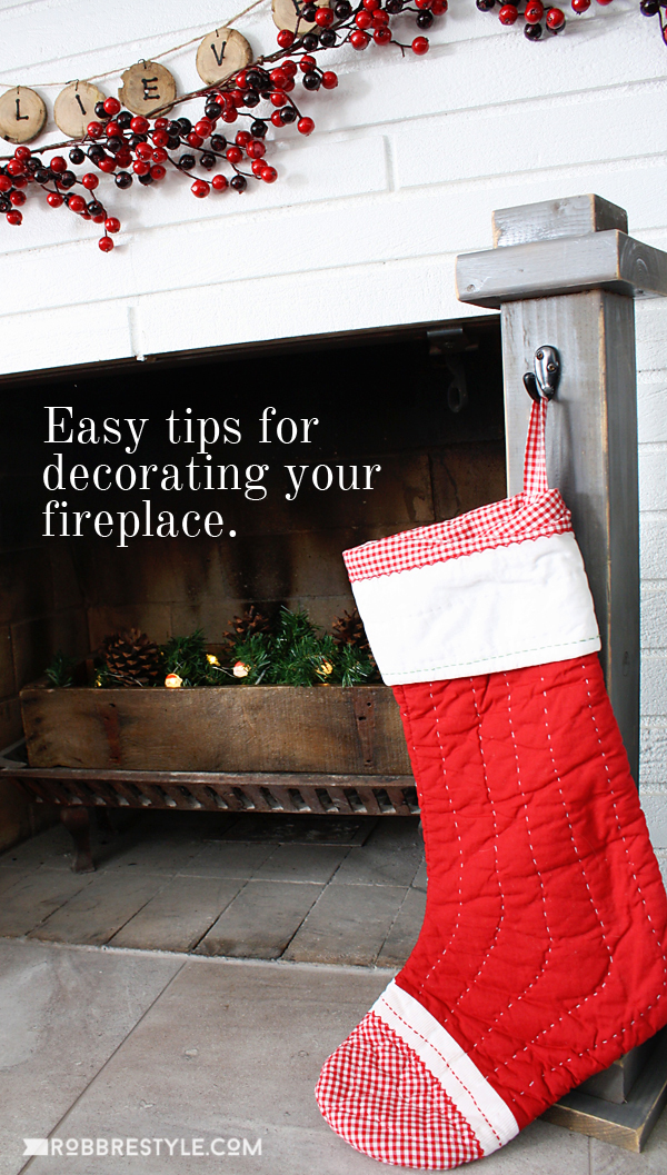 Easy tips for decorating a fireplace