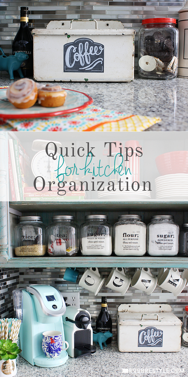 DIY Kitchen Organization Tips