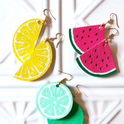 How to Make Fruit Slice Earrings