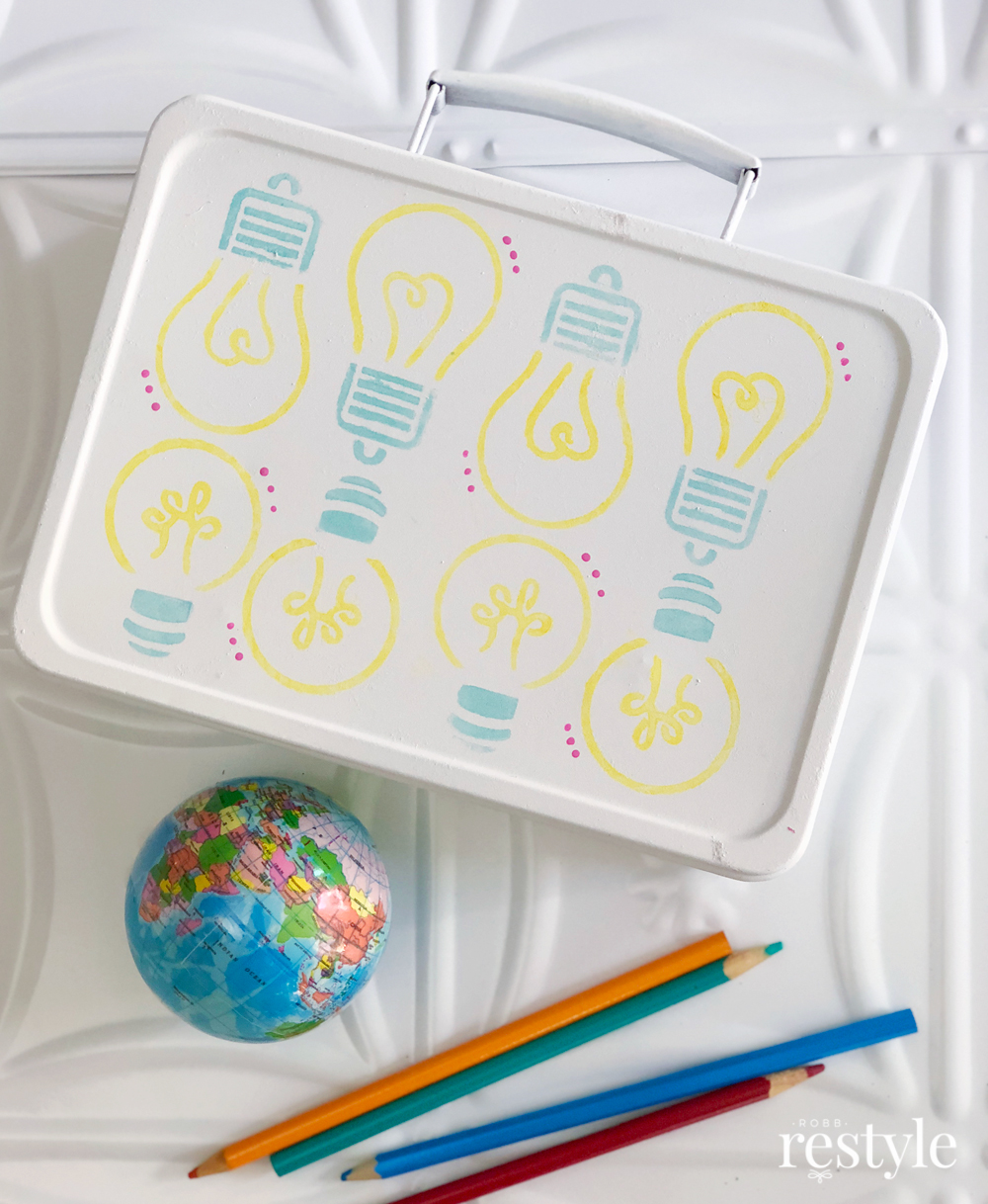 DIY Upcycle Lunch Box