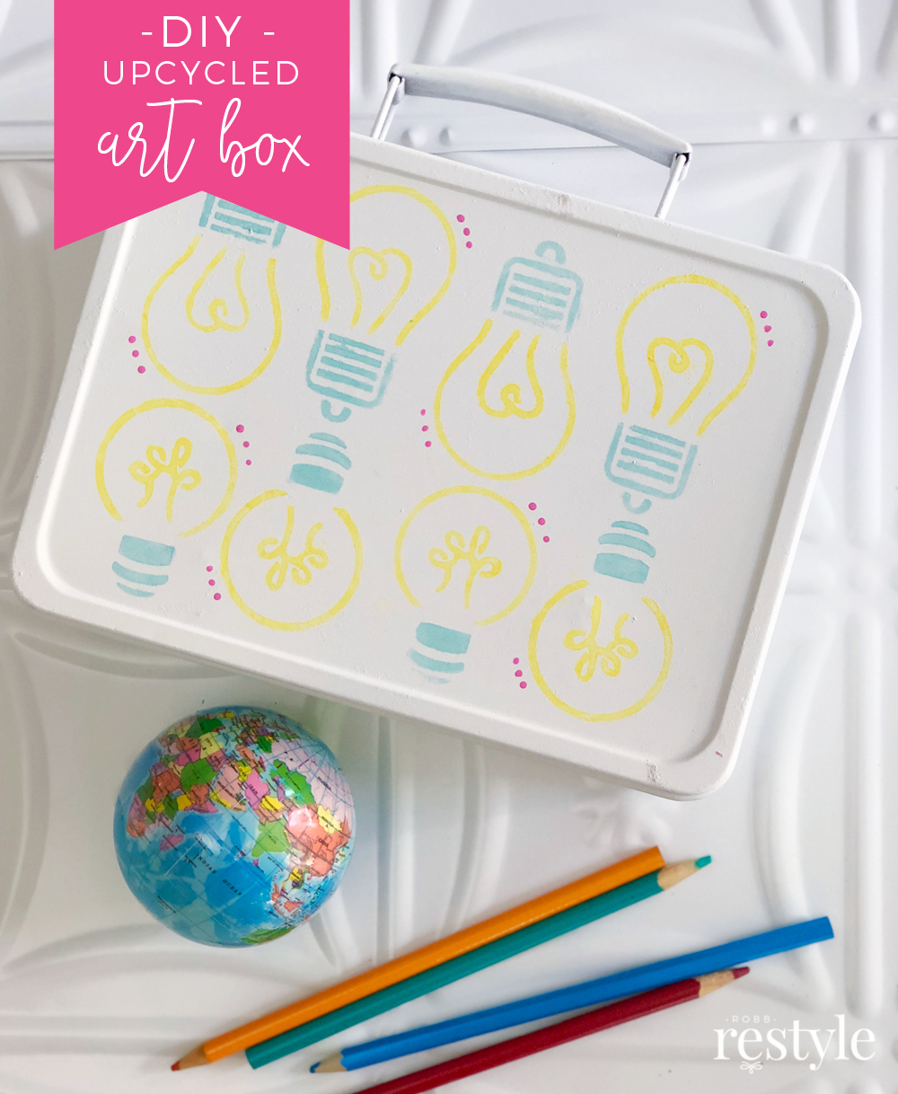 DIY Upcycle Pencil Case - Back To School Project