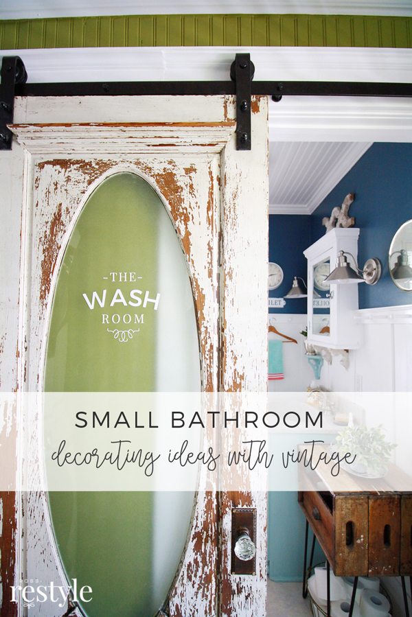 Small Bathroom Decorating Ideas with Vintage