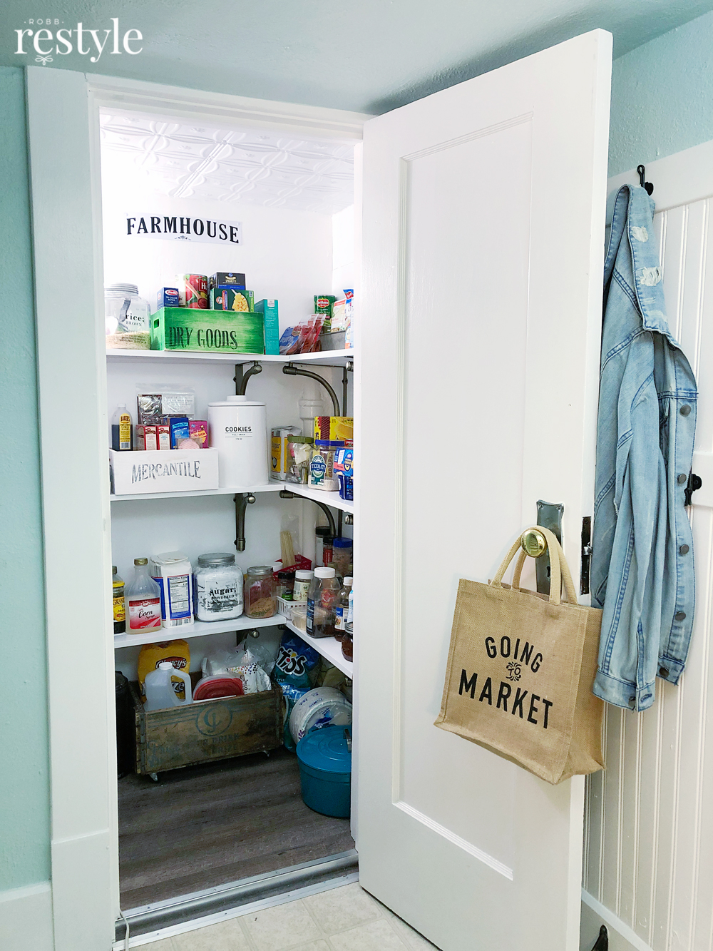 Old House Storage - Closet Pantry