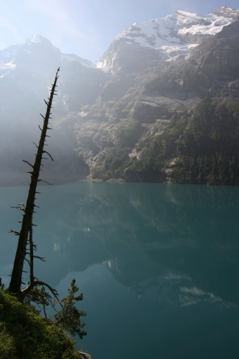 A spectacular morning hike in the Bernese Oberland, Switzerland.