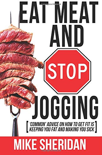eat meat stop jogging cover