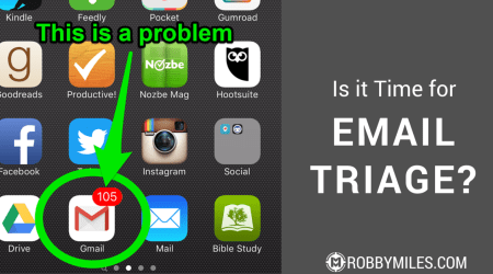 Is it Time for Email Triage-