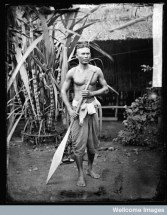Siamese boatman, Siam [Thailand].