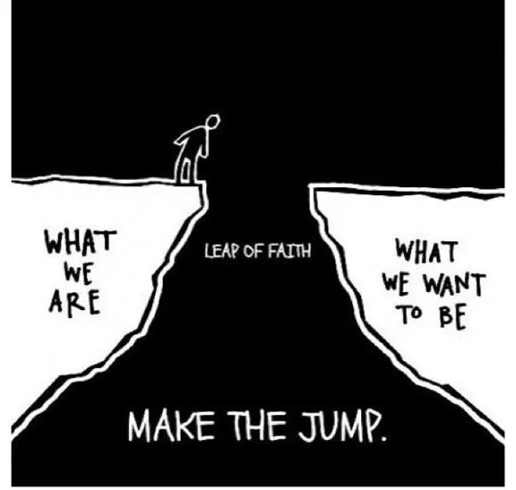 Leap of Faith cartoon