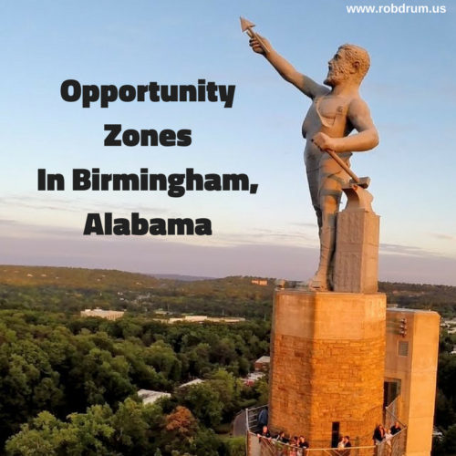 Opportunity Zones In Birmingham, Alabama