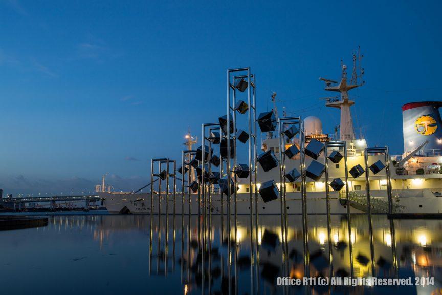 晴海埠頭の有名なオブジェ