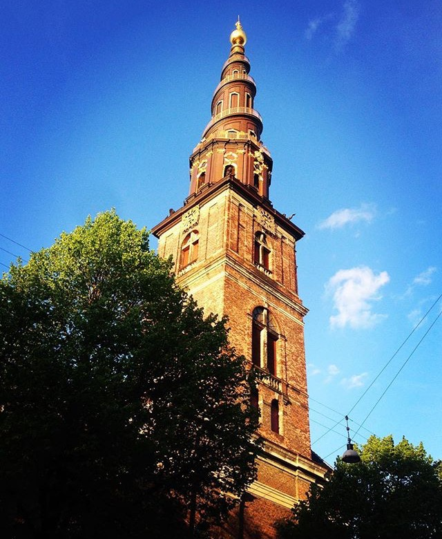 Church of our Savior in Copenhagen