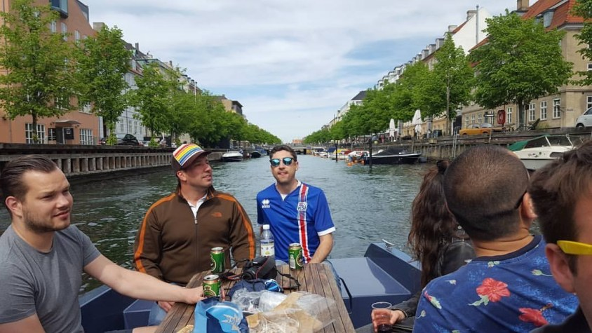 View Copenhagen from the canals and harbors on an electric boat