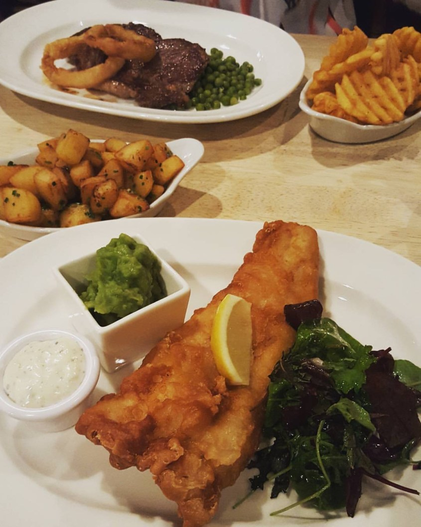 Fish and Chips travel tips eat an authentic meal
