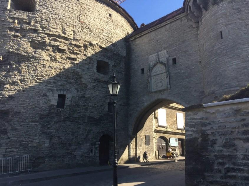 Tallinn Estonia Medieval Wall