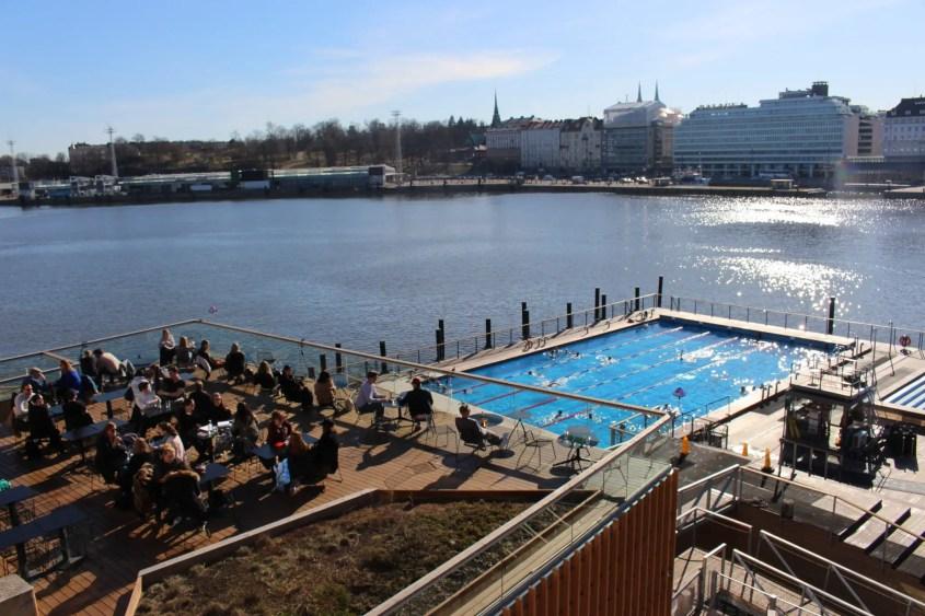 Allas Sea Pool Helsinki Finland Harbor