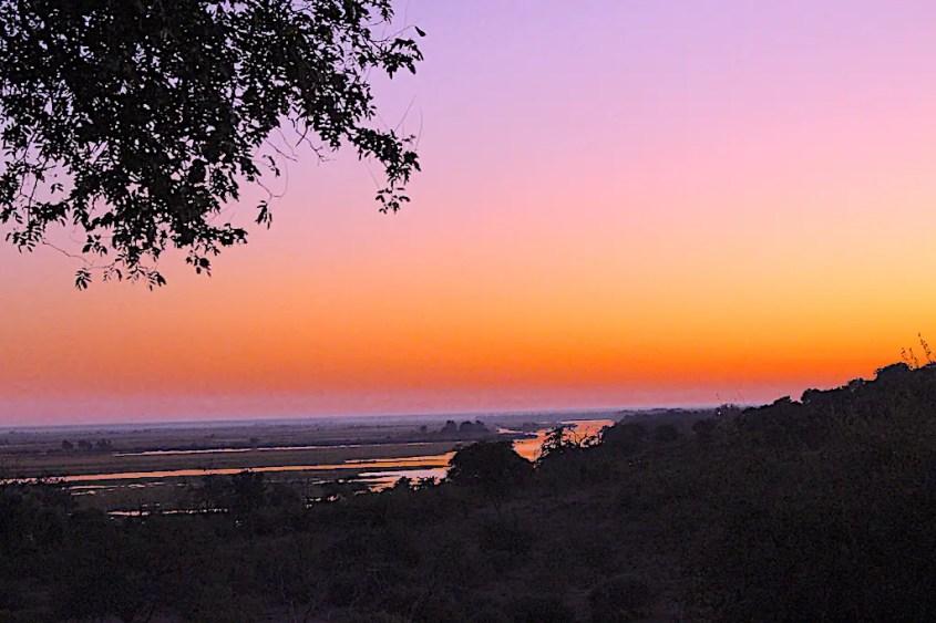 Sunrise in Chobe National Park Botswana Safari with G Adventures Africa