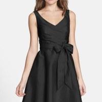 Robe noire classique chic