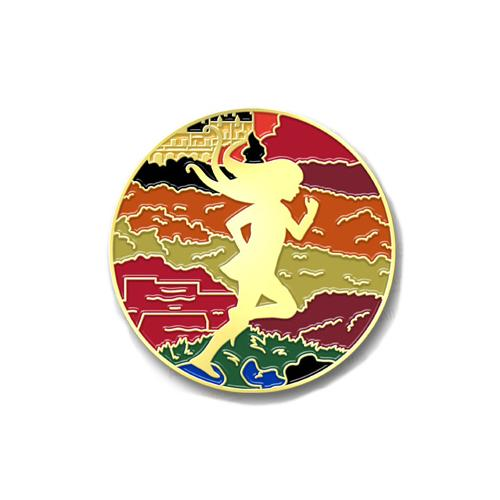 Gold Enamel Pin - Serafina and the Twisted Staff