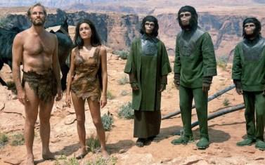 PLANET OF THE APES, Charlton Heston, Linda Harrison, Kim Hunter, Roddy McDowall, 1968, Tm & Copyright (c) 20th Century Fox Film Corp. All rights reserved.