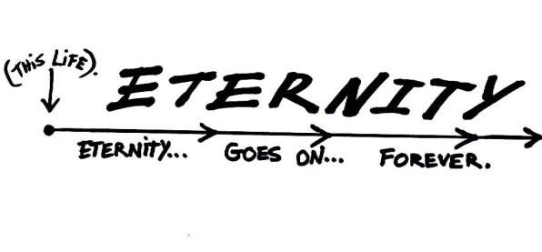 eternity goes on forever