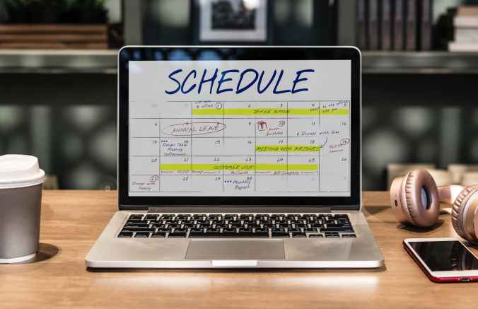 plan, schedule, success