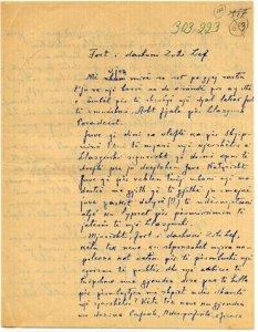Letra Filip Papajani per Lef Nosi