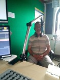 Robert Crouch Hailsham FM sudio