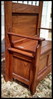 Oak Entry Bench