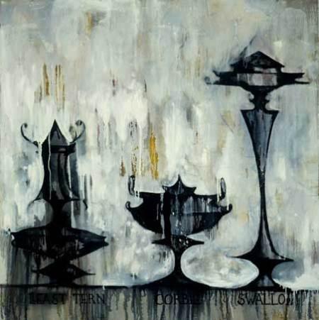 "Vases; approx. 56"" x 48"" circa 1986, Robert Egert"