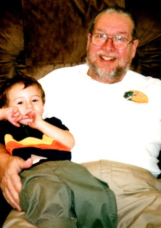 My father with my son, Jacob