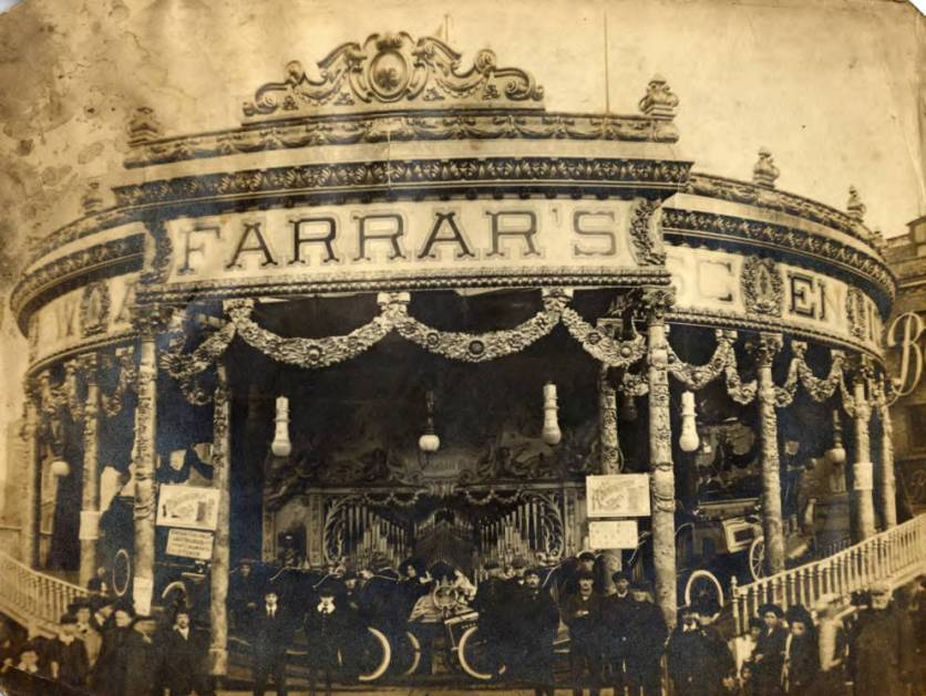 Farrar and Scenic Railway, 1910, King's Lynn, Norfolk. Courtesy of the National Fairground Archive.