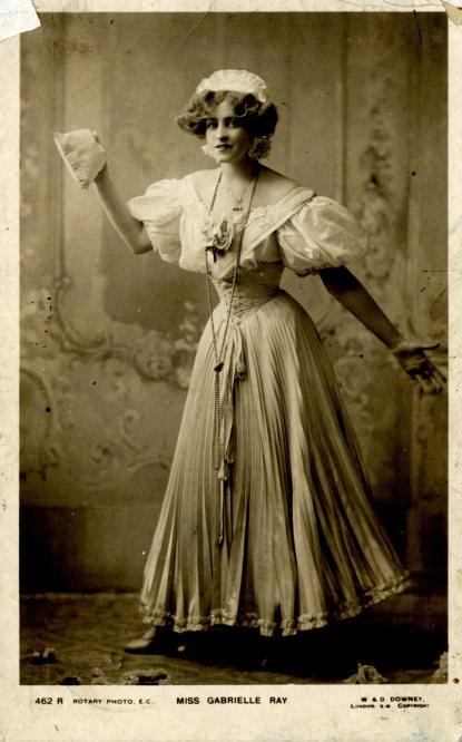 """Miss Gabrielle Ray"", c. 1907."