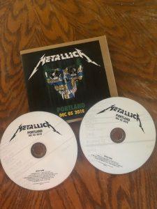 Metallica in Portland Live Recording