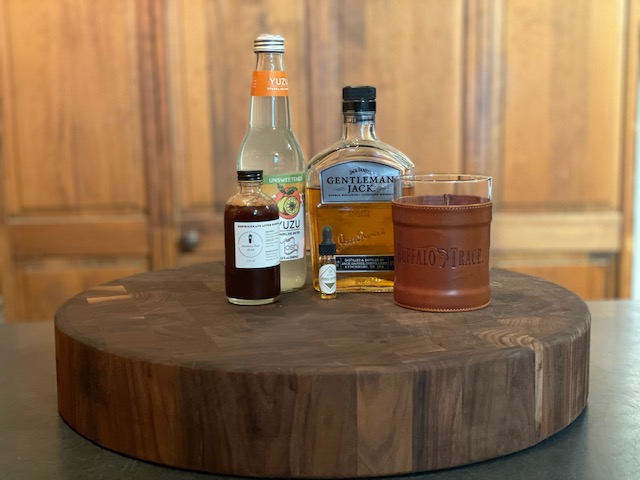 summer flung whiskey cocktail