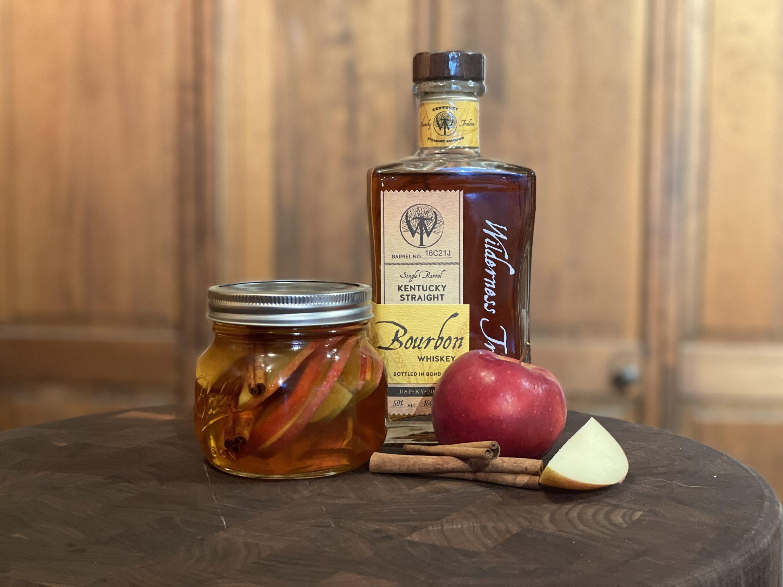 apple cinnamon bourbon Robert Forto
