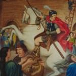 Centurion au 5e siècle – détail Sainte-Geneviève aux portes de Paris