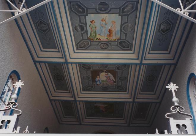 Chapelle N.D. du Bon Secours- Plafond-2