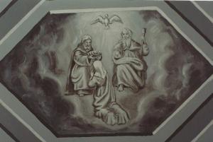 Couronnement de Marie;Freynet-copie de l'original de Tauffenbach